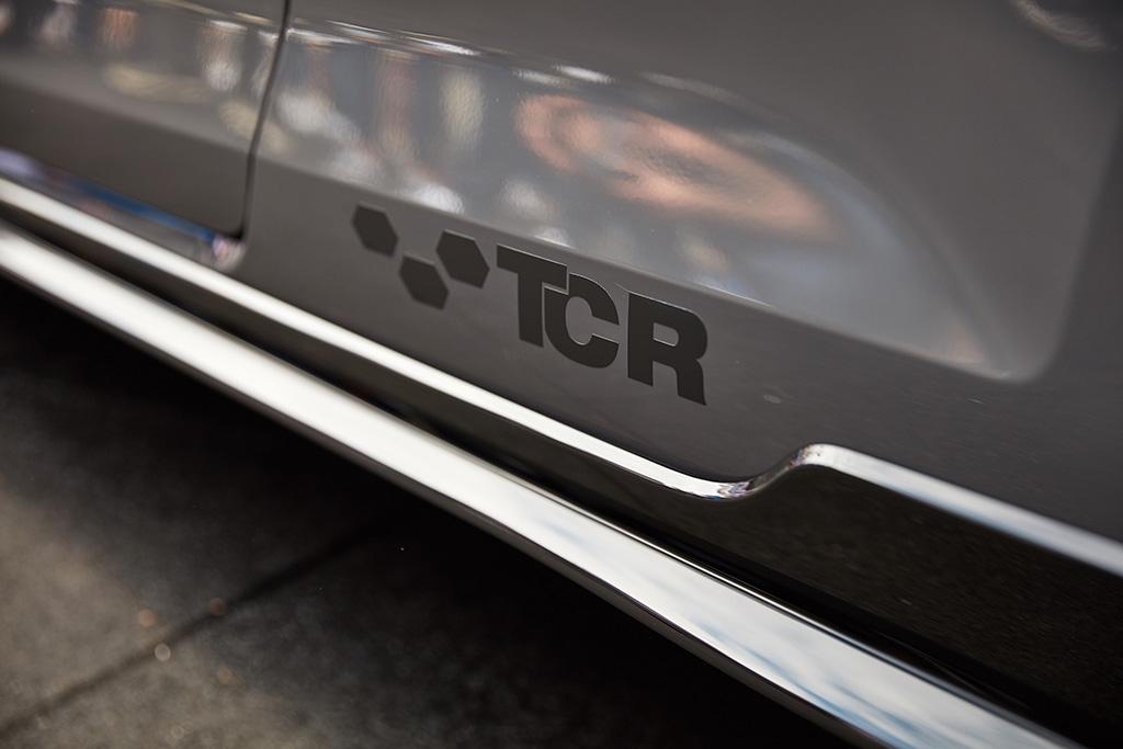 Golf GTI TCR Concept Daten TCR Symbol Bildquelle: volkswagen-media-services.com