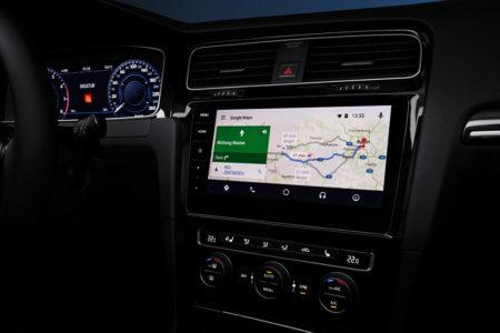 Cockpit und Infotainment im neuen Golf7 Facelift 2017 Bildquelle: Volkswagen AG