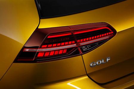 LED Rückleuchten beim neuen Golf7 Facelift 2017 Bildquelle: Volkswagen AG