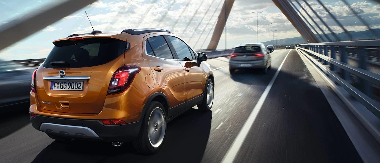 Heck vom Opel Mokka X Bildquelle: Opel.de
