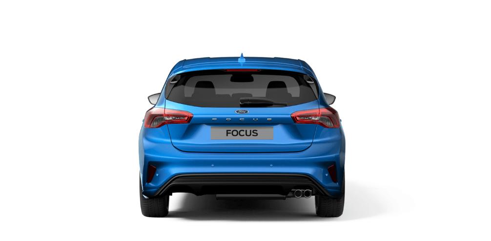 Heckansicht des Ford Focus 2018 Bildquelle: Ford.de