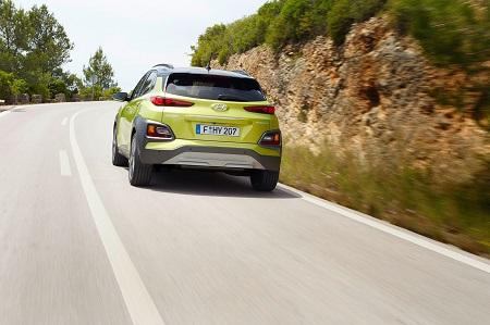 Heckansicht des neuen Hyundai Kona Bildquelle: hyundai.de
