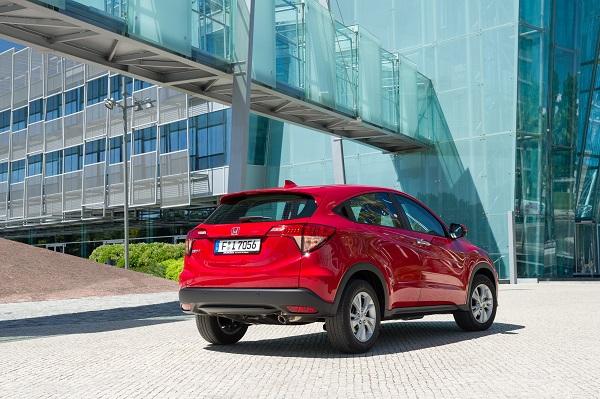 Der Honda HRV Heck Ansicht Bildquelle: hondanews.eu