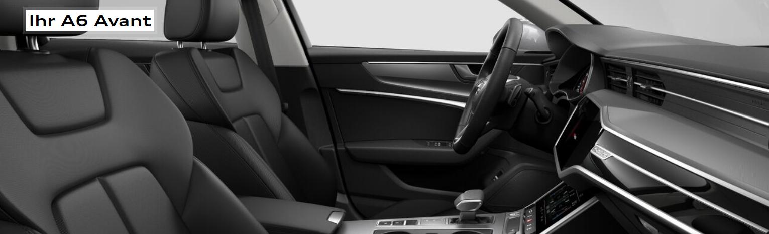 Innenraum Daten/Kritik Audi A6 Avant 55 Bildquelle: Audi.de