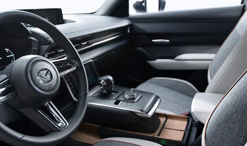 Innenraum im Mazda MX-30 Elektro Bildquelle: Mazda.de