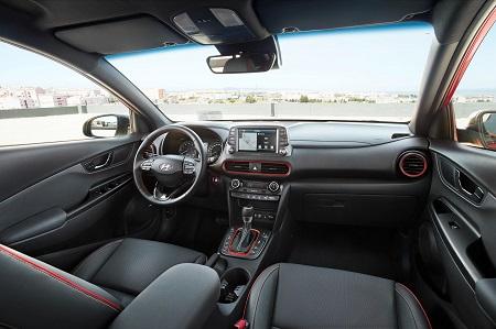 Innenraum im neuen Hyundai Kona Bildquelle: hyundai.de
