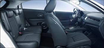 Der Honda HRV Innenraum Vorne Bildquelle: hondanews.eu