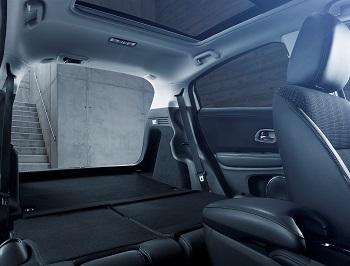 Der Honda HRV Innenraum Rücksitz Bildquelle: hondanews.eu