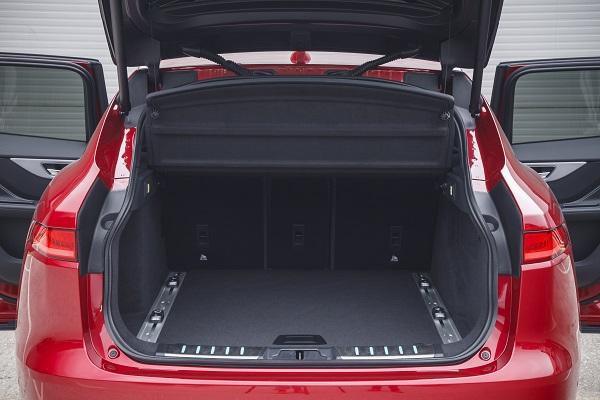 Kofferraum Jaguar F Pace Test Bildquelle: Jaguar Pressebereich