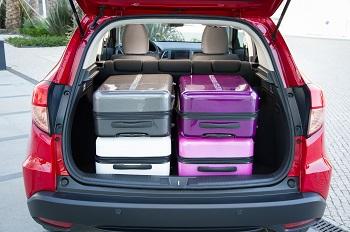 Der Honda HRV Kofferraum Bildquelle: hondanews.eu