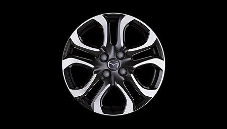 Mazda 2 Nakama der neue Mazda 2 als Sondermodell Nakama - der Kleinwagen von Mazda als dein Gefährte Leichtmetallfelgen im Mazda 2 Nakama im Diamanten-Look Bildquelle: mazda.de