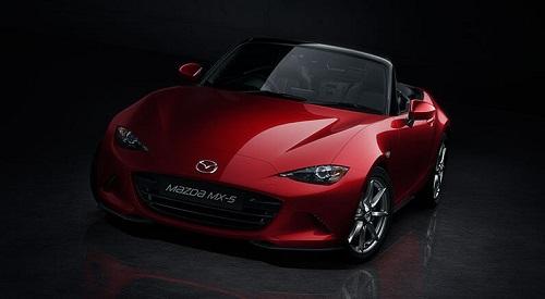Mazda MX 5 Test Front Bildquelle: Mazda.de