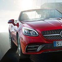 Mercedes SLC 300 Erfahrungen Blick auf die Front mit Kühlergrill Bildquelle: mercedes-benz.de