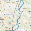 Mobiles Navi, festverbaut oder wie hier mit Google Maps als App Lösung Bildquelle: Google Maps