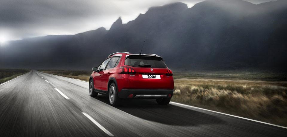 Neue Peugeot Modelle ANsicht des kleinsten SUV, dem 2008 Bildquelle: Peugeot.ch