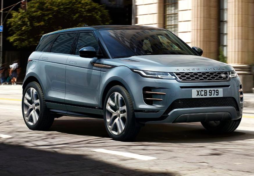 Neue Range Rover Evoque Frontansicht 2019 Bildquelle: landrover.de