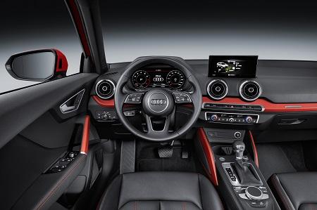 Neuer Audi Q2 Cockpit Bildquelle: Audi-Mediacenter