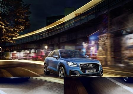 Neuer Audi Q2 Frontal Bildquelle: Audi-Mediacenter