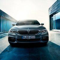 Neuer BMW 5er 2016 als Limousine Frontansicht Blick von Vorne Kühlergrill Bildquelle: bmw.de