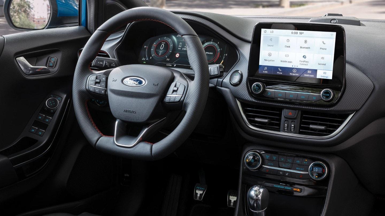 Neuer Ford Puma 2019 Innenraum und Cockpit Bildquelle: Ford.de