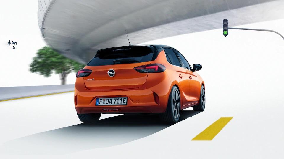 Opel Corsa Elektro Heckansicht Bildquelle: Opel.de