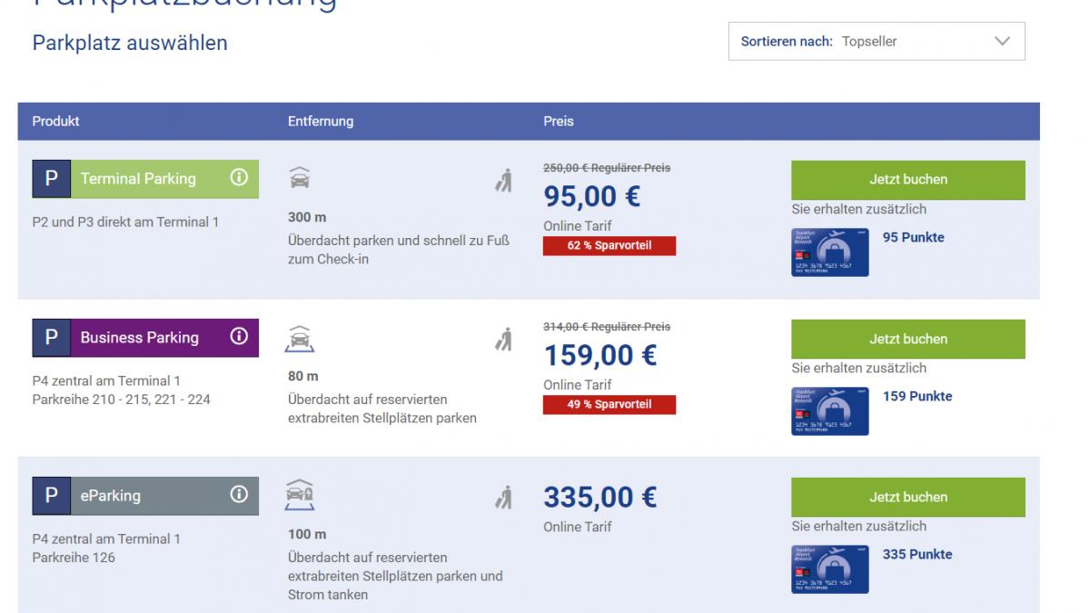 Kostenlose Parkplätze Frankfurt