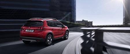 Peugeot 2008 Vorstellung-Heck-Ansicht