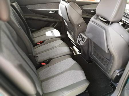 Peugeot 5008 Erfahrungsbericht Bild vom Innenraum im neuen 5008