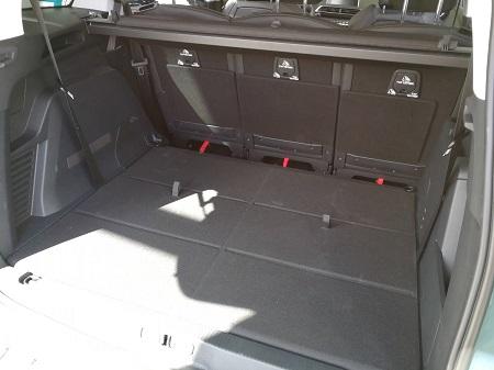 Peugeot 5008 Erfahrungsbericht Bild vom Kofferraum