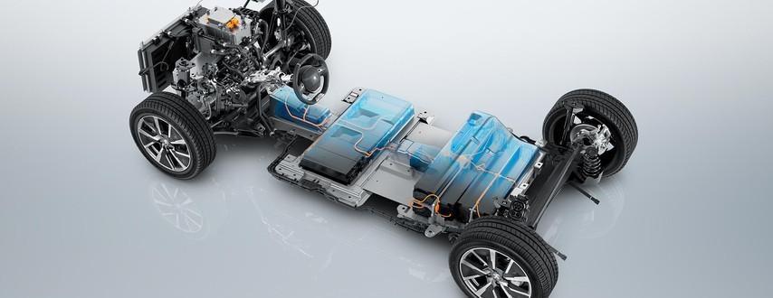 Peugeot e-208 Fakten Elektrobatterie und Fahrgestell Bildquelle: Peugeot.de