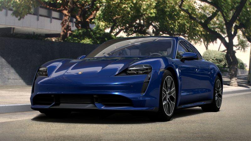 Porsche Taycan Reichweite und Antrieb