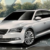 Preisvergleich Skoda Superb Combi 1.4 TSI ACT Bildquelle: Skoda-Auto.de