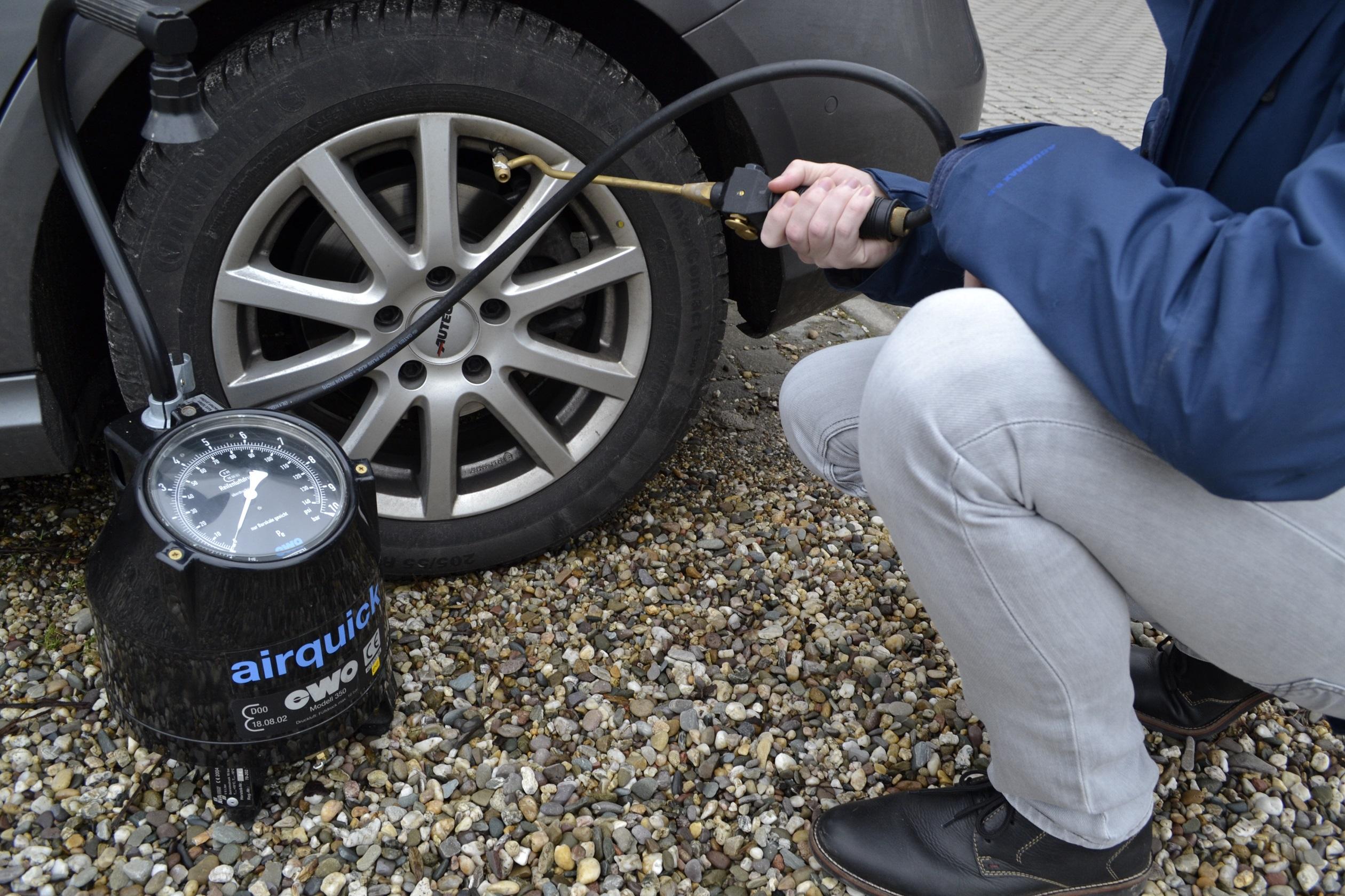 Reifendruck, ein Reifencheck selbst gemacht ist schnell erledigt Bildquelle: reifenqualitaet.de
