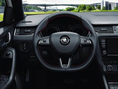 Skoda Octavia RS 4x4 Cockpit