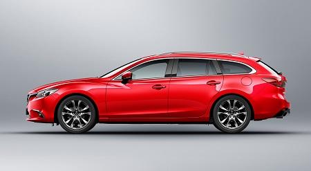 Der neue Mazda6 Kombi 2017 von der Seite