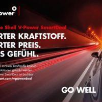 Shell V-Power SmartDeal - jetzt an der Shell Tankstelle sparen und Premiumkrafttoff tanken Bildquelle: Shell