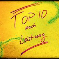 TOP 10 Autos nach Leistung