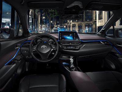 Interieur im neuen Toyota C-HR Bildquelle: Toyota