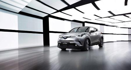 Der neue Toyota C-HR Bildquelle: Toyota