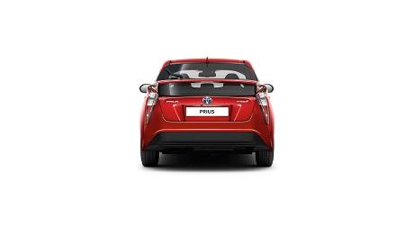 Toyota Prius 4 Erfahrungsbericht Erfahrungen zum Prius IV Bild vom Heck des Prius Bildquelle: toyota.de
