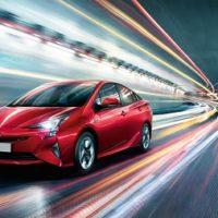 Toyota Prius 4 Erfahrungsbericht Erfahrungen zum Prius IV Bild von der Front Bildquelle: toyota.de