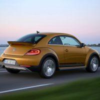 VW Beetle Erfahrungsbericht Bild vom Heck des VW Beetle Dune Bildquelle: Volkswagen AG