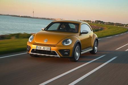 VW Beetle Erfahrungsbericht Frontansicht des neuen VW Beetle Dune Bildquelle: Volkswagen AG