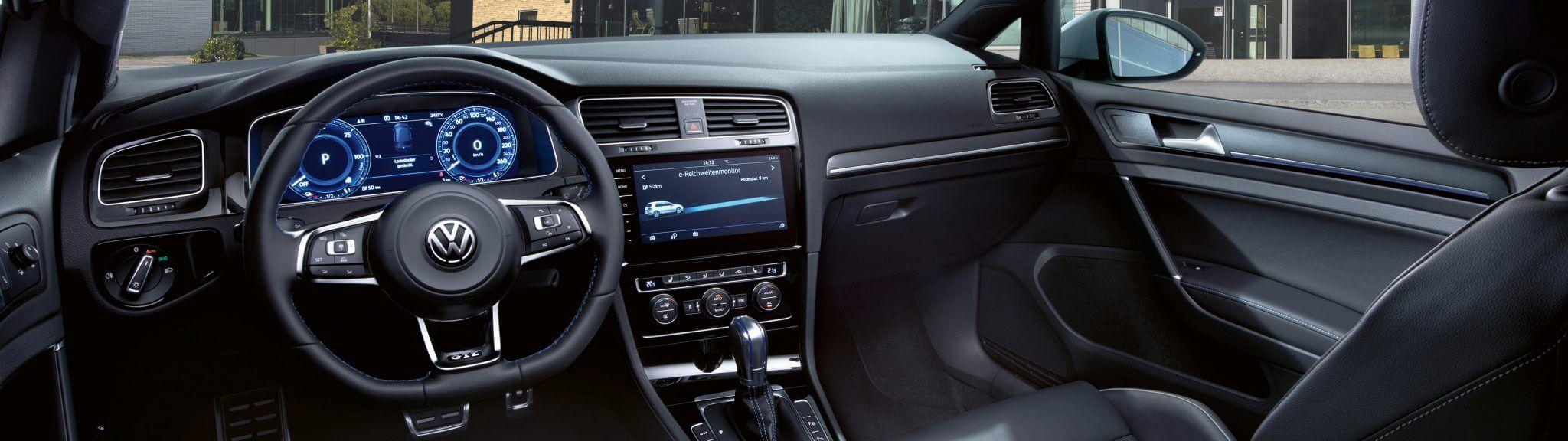 VW Golf GTE Innenraum-Interieur Bildquelle: Volkswagen.de