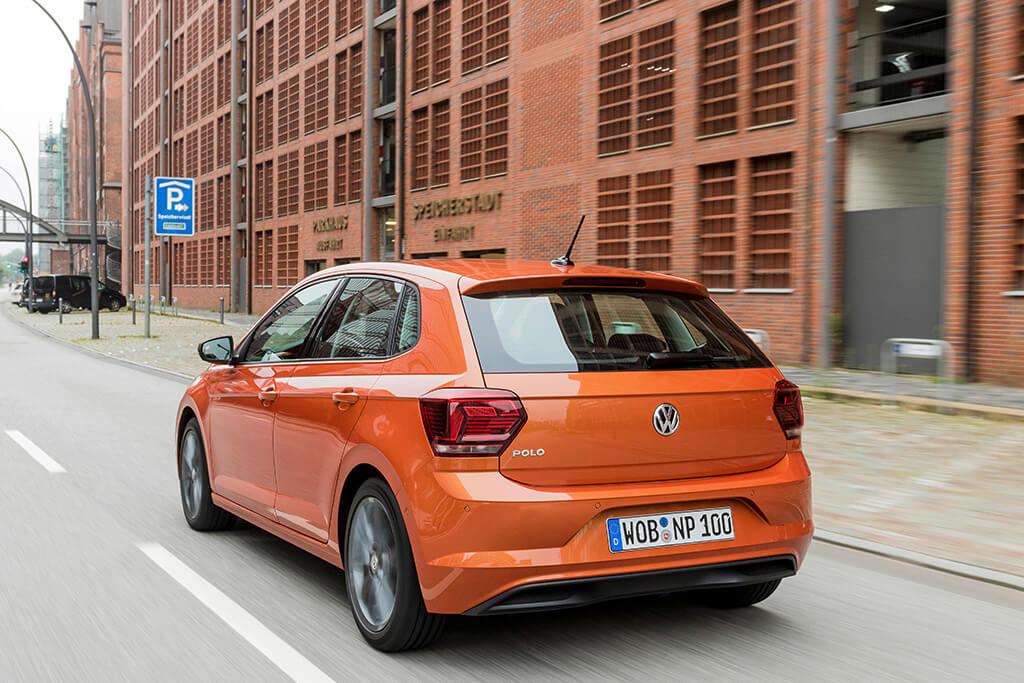 VW Polo Faktencheck Bild vom Polo 6 Heckansicht Bildquelle: volkswagen