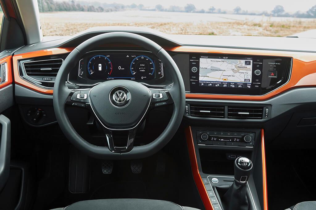 VW Polo Faktencheck Innenraum des neuen Polo 6 Bildquelle: volkswagen