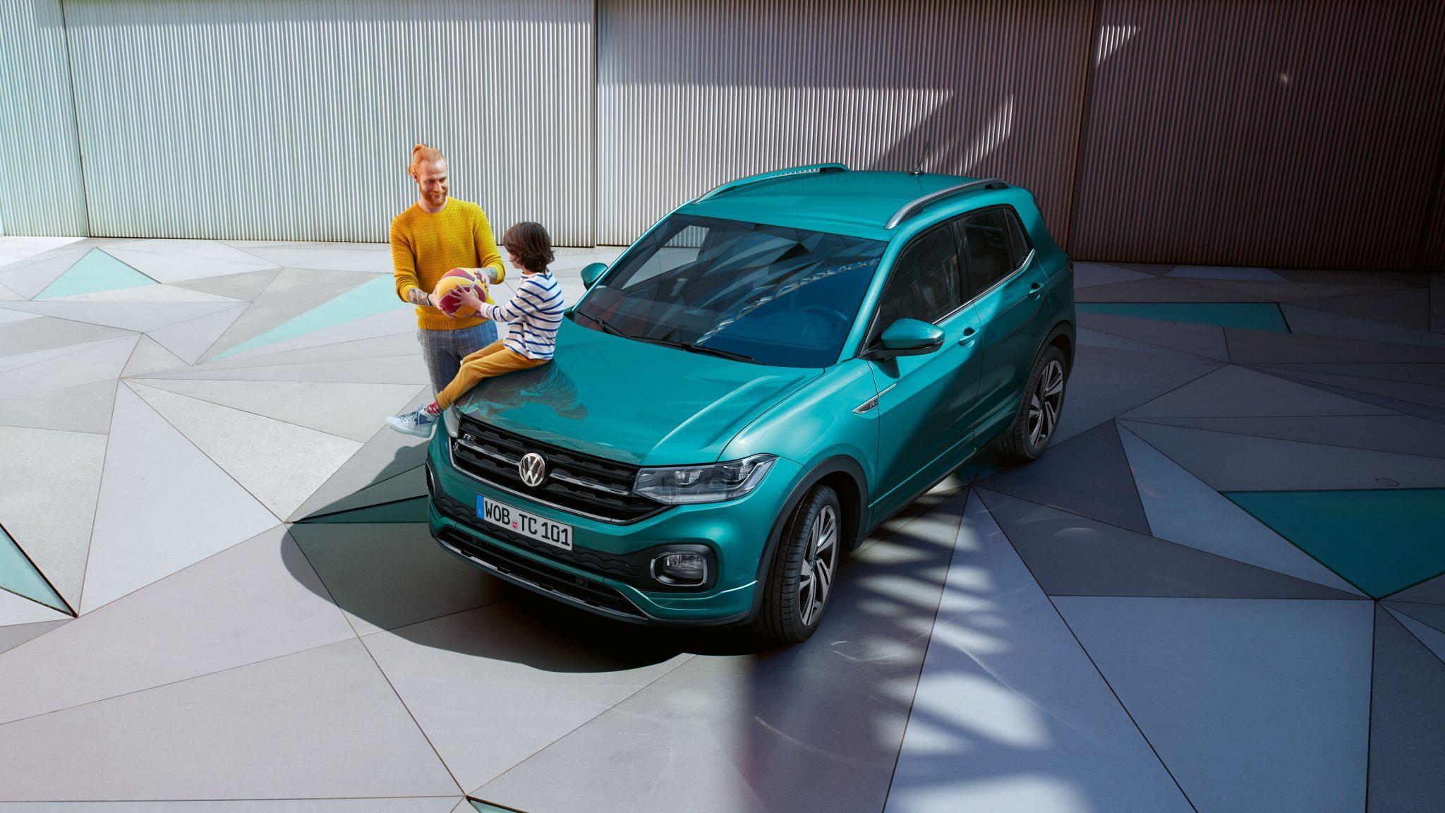 VW T-Cross Vorteile und Nachteile des Polo-SUV Frontansicht Bildquelle: Volkswagen.de