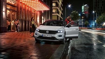 VW T-Roc Daten und Fakten Frontansicht des Crossover Bildquelle: VW