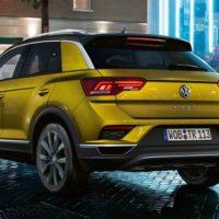 VW T-Roc Daten und Fakten Heckansicht Bildquelle: VW
