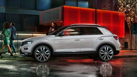 VW T-Roc Daten und Fakten Seitenansicht Bildquelle: VW
